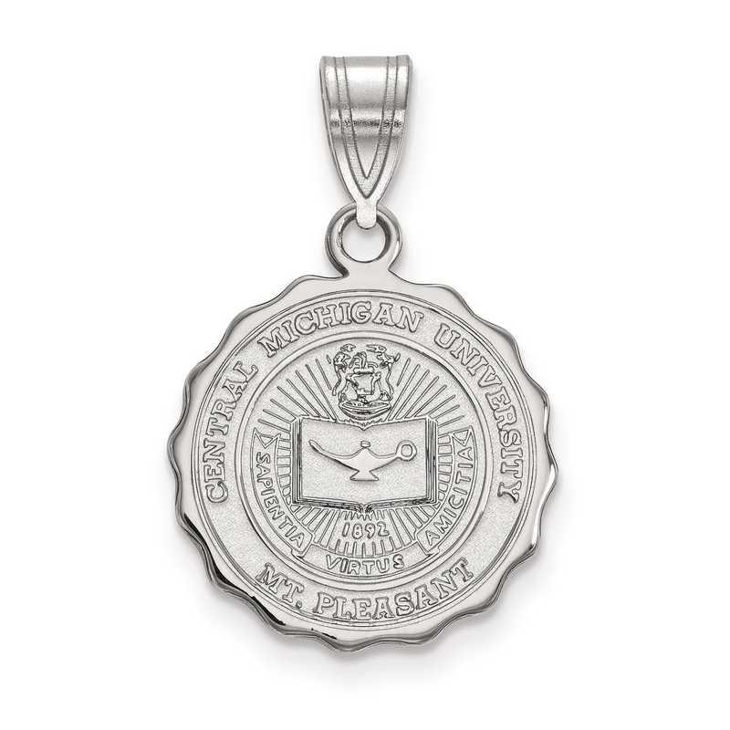 SS015CMU: S S LogoArt Central Michigan University Medium Crest Pend