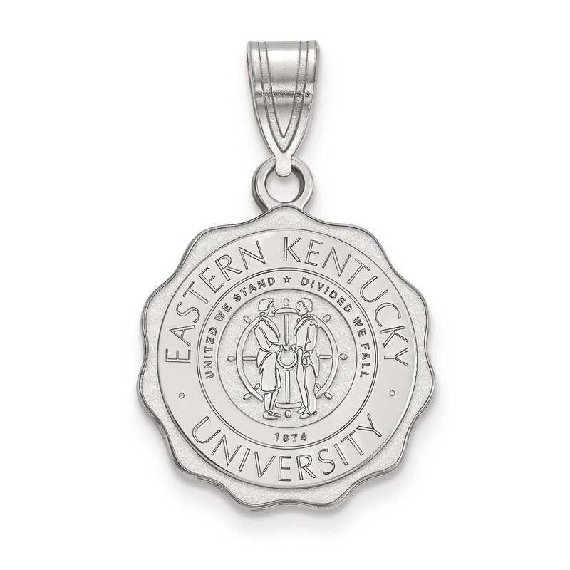 SS015EKU: S S LogoArt Eastern Kentucky University Medium Crest Pend