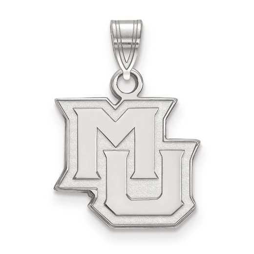 SS015MAR: SS LogoArt Marquette University Small Pendant