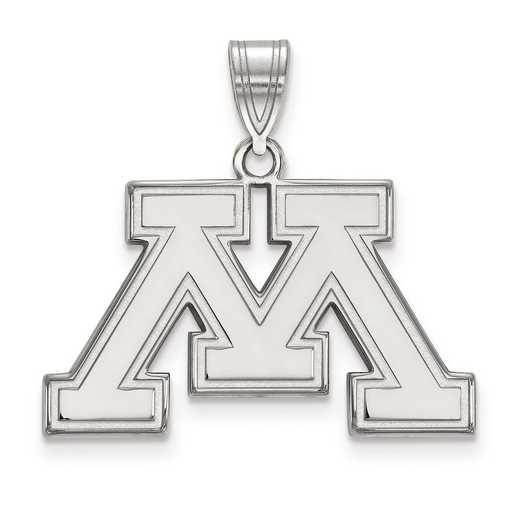 SS017UMN: SS LogoArt University of Minnesota Medium PEND