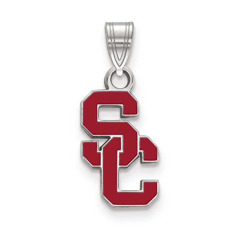 SS017USC: SS University of Southern California Small Enamel Pend