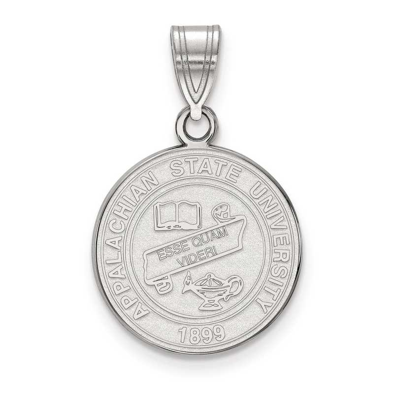 SS019APS: S S LogoArt Appalachian State University Medium Crest Pend