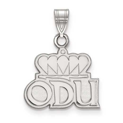SS019ODU: SS LogoArt Old Dominion University Small Pendant