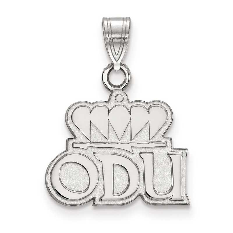SS019ODU: SS LogoArt Old Dominion University Small Pendant
