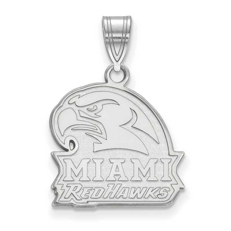SS021MU: SS LogoArt Miami University Medium PEND