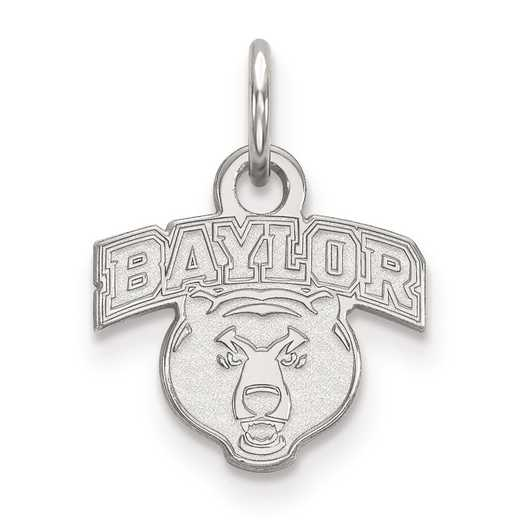 SS022BU: SS LogoArt Baylor University XS Pendant