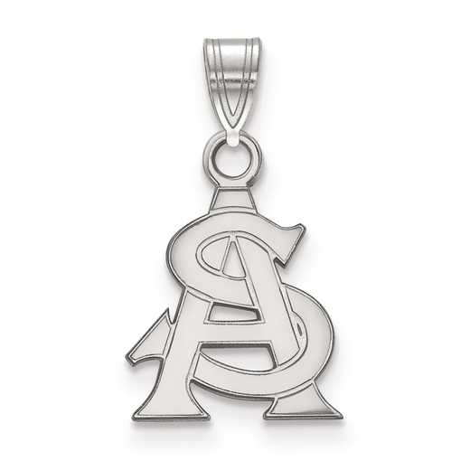 SS025AZS: SS LogoArt Arizona State University Small Pendant