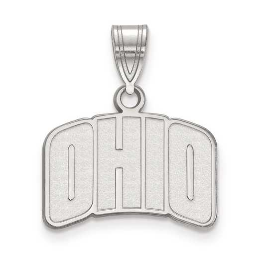 SS026OU: SS LogoArt Ohio University Small Pendant