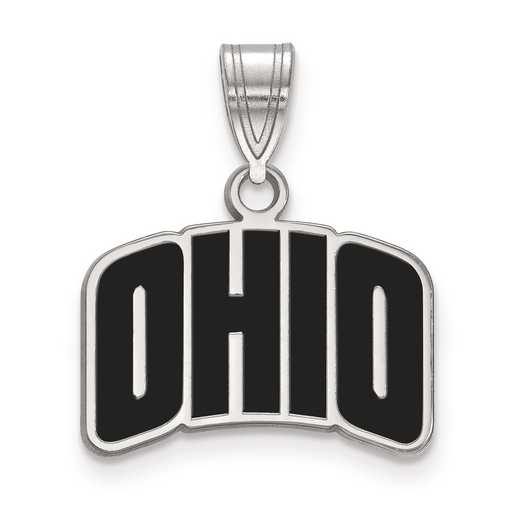 SS027OU: S S LogoArt Ohio University Small Enamel Pend