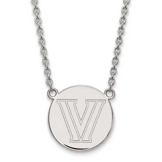SS029VIL-18: S S LogoArt Villanova University Large Disc w/Neck