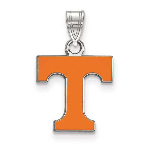 SS031UTN: S S LogoArt University of Tennessee Small Enamel Pend