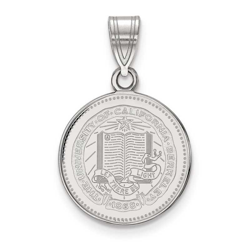 SS038UCB: S S LogoArt Univ of California Berkeley Medium Crest Pend