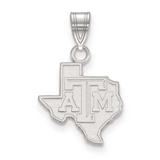 SS041TAM: SS LogoArt Texas A&M University Small PEND