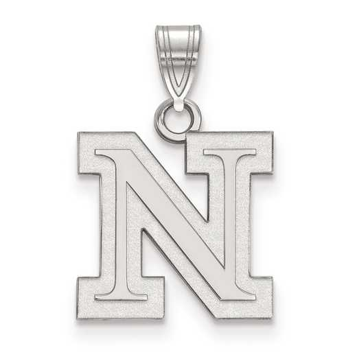 SS041UNE: SS LogoArt University of Nebraska Small PEND
