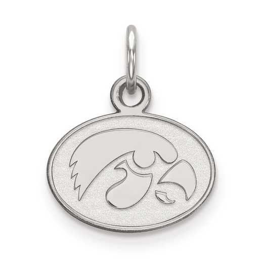 SS043UIA: SS LogoArt University of Iowa XS Pendant