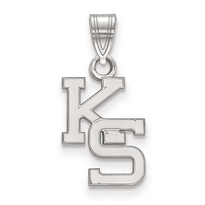 SS044KSU: SS LogoArt Kansas State University Small Pendant