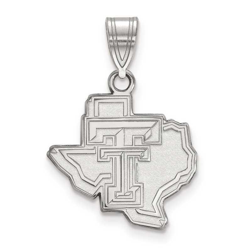 SS045TXT: SS LogoArt Texas Tech University Medium PEND