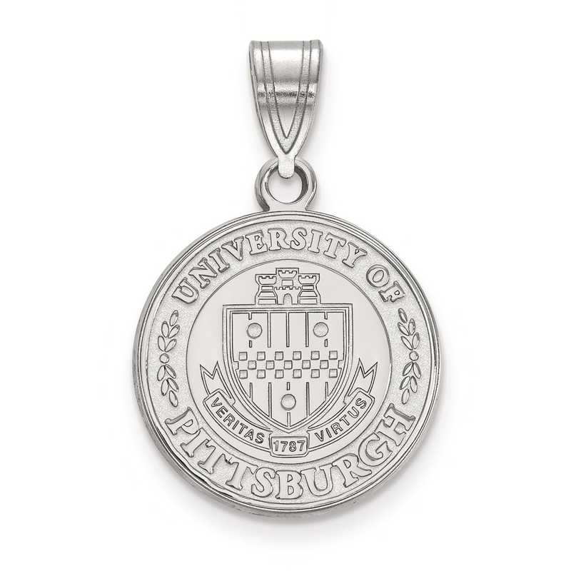 SS045UPI: S S LogoArt University of Pittsburgh Medium Crest Pend
