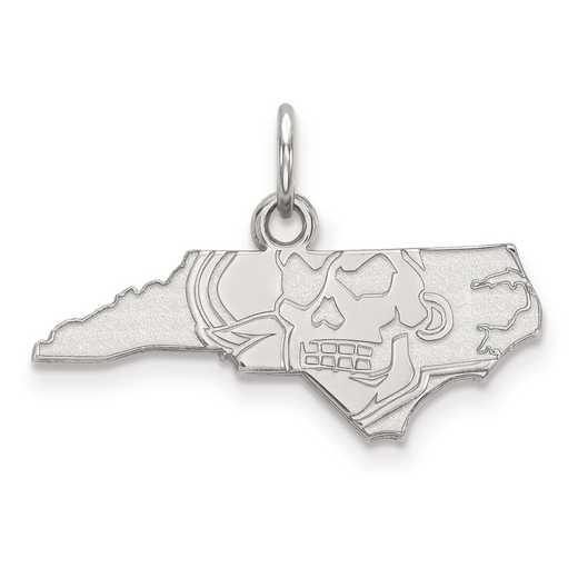 SS051ECU: SS LogoArt East Carolina University XS Pendant