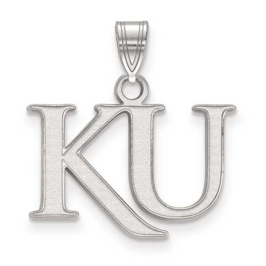 SS051UKS: SS LogoArt University of Kansas Small PEND