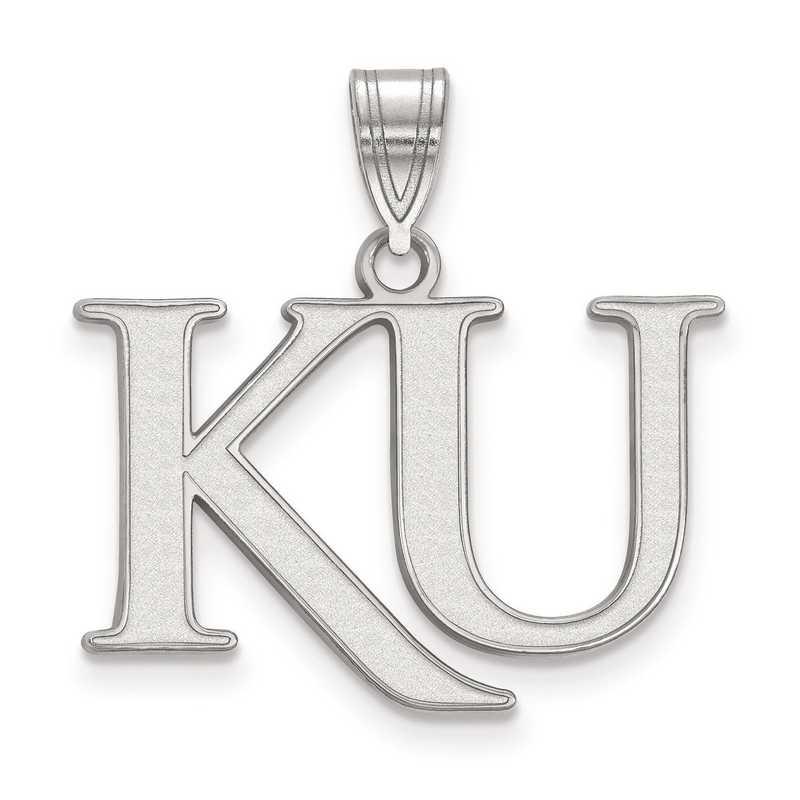 SS052UKS: SS LogoArt University of Kansas Medium PEND