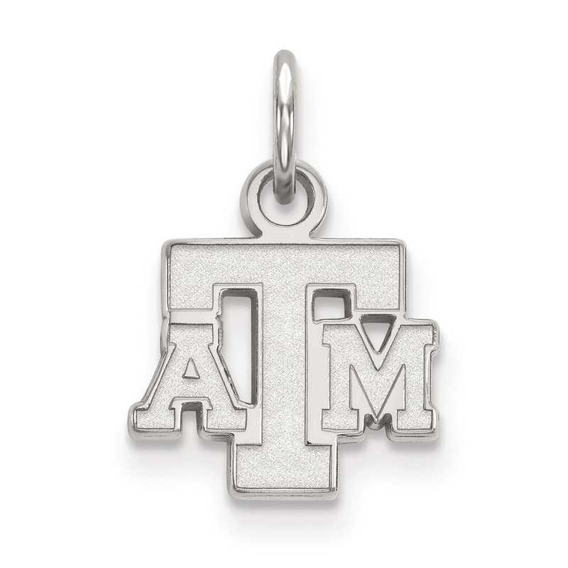 SS054TAM: SS LogoArt Texas A&M University XS Pendant