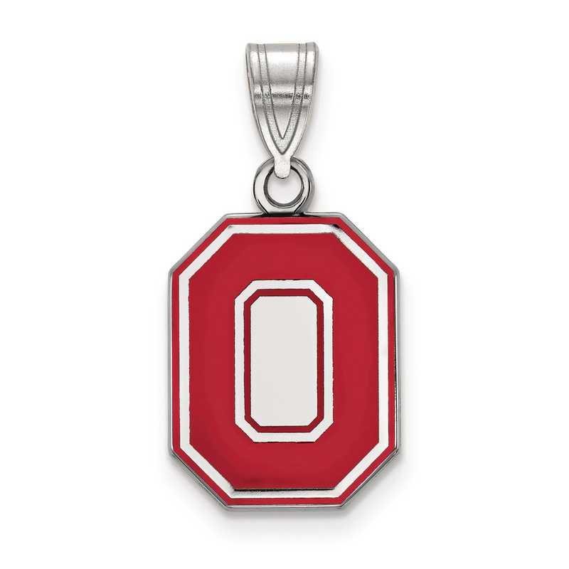 SS056OSU: S S LogoArt Ohio State University Medium Enamel Pend