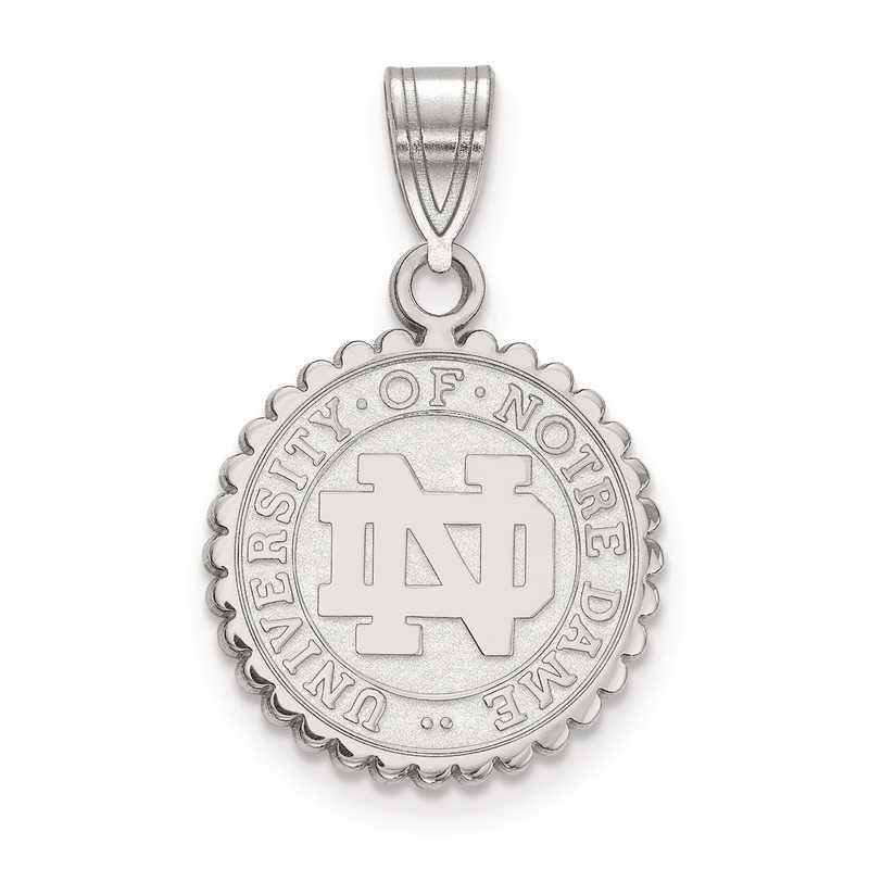 SS066UND: SS LogoArt University of Notre Dame Medium Crest Pend