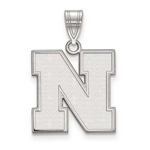 SS067UNE: SS LogoArt University of Nebraska Medium PEND