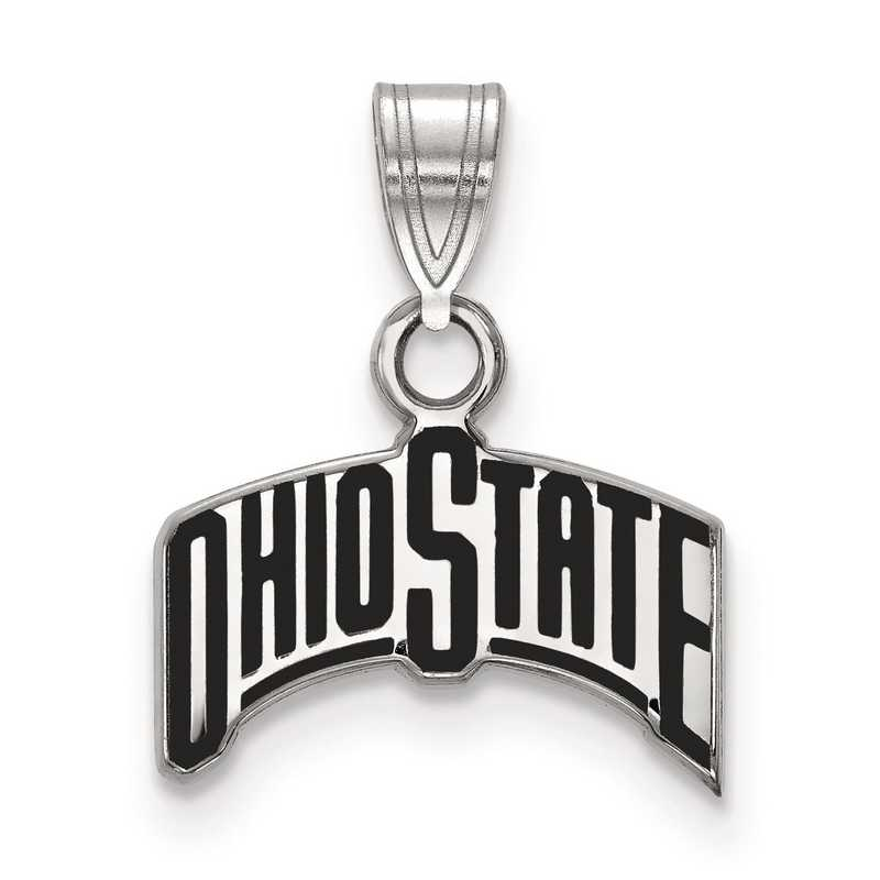 SS073OSU: S S LogoArt Ohio State University Small Enamel Pend