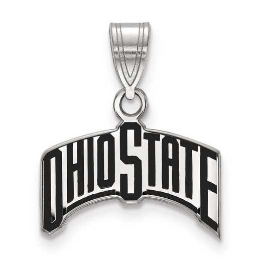 SS074OSU: S S LogoArt Ohio State University Medium Enamel Pend