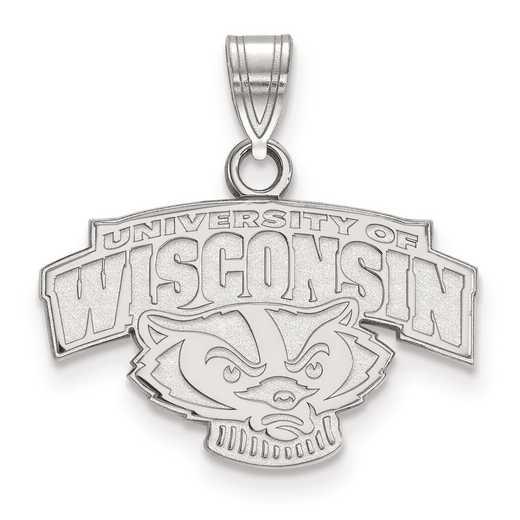 SS075UWI: SS LogoArt University of Wisconsin Small PEND