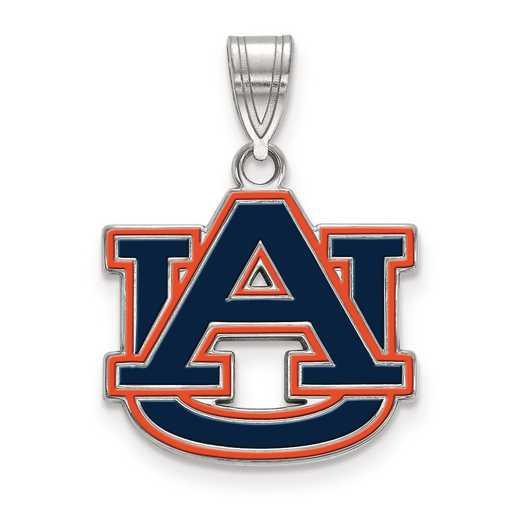 SS076AU: S S LogoArt Auburn University Medium Enamel Pend