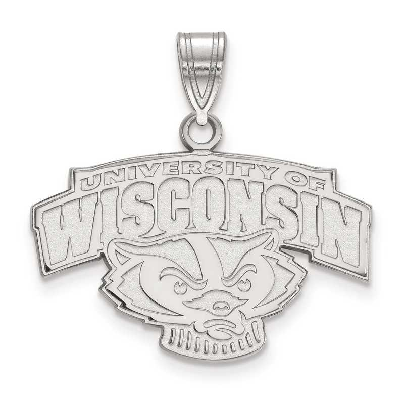 SS076UWI: SS LogoArt University of Wisconsin Medium PEND
