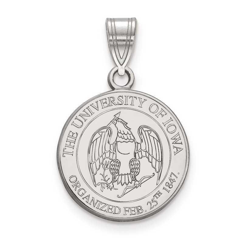 SS078UIA: S S LogoArt University of Iowa Medium Crest Pend