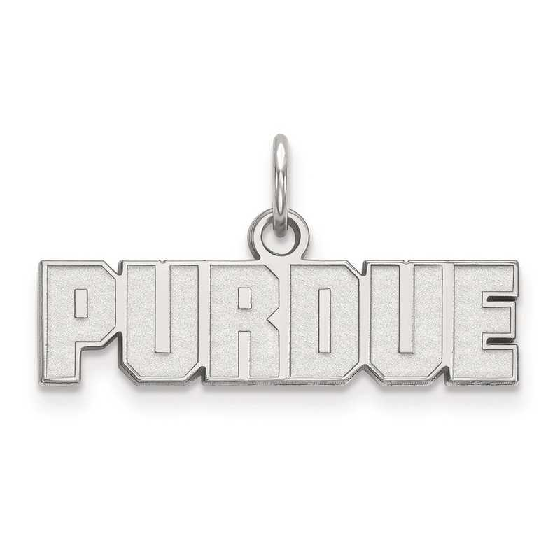 SS080PU: SS LogoArt Purdue XS Pendant