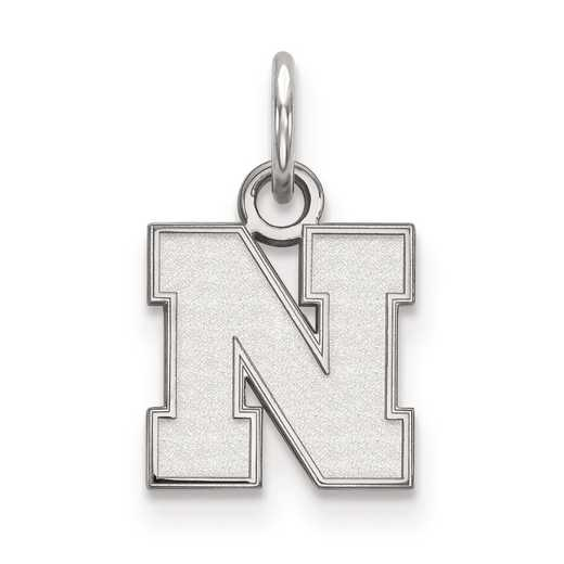 SS083UNE: SS LogoArt University of Nebraska XS Pendant