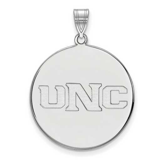 SS003UNCO: SS LogoArt Univ of Northern Colorado XL Disc Pendant