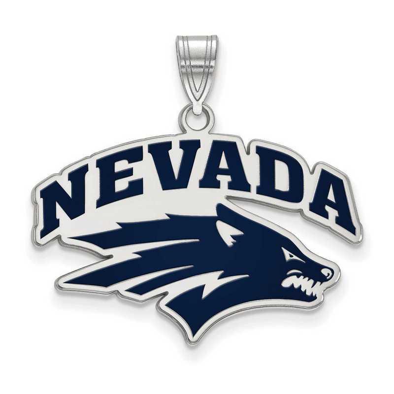 SS009UNR: SS LogoArt Univ of Nevada LG Enamel Pendant