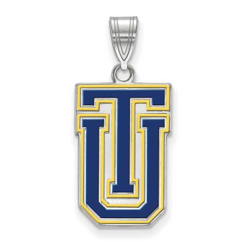 SS010UTL: SS LogoArt The Univ of Tulsa LG Enamel Pendant