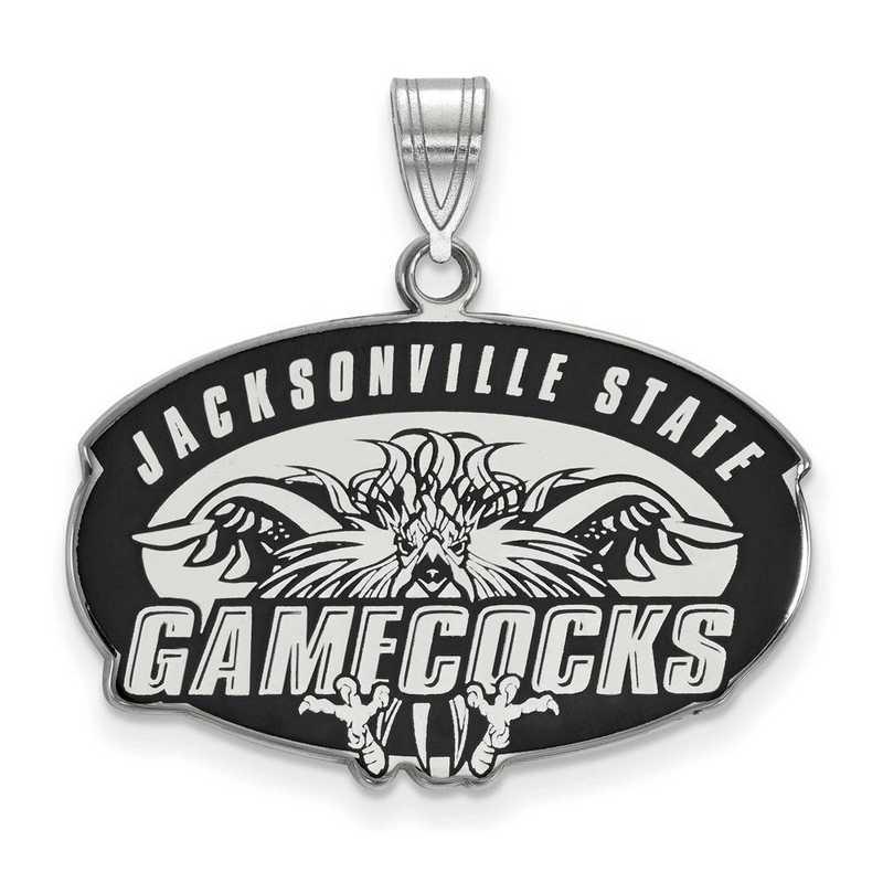 SS012JAC: SS LogoArt Jacksonville St Univ LG Enamel Pendant