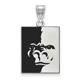 Gold-Plated Sterling Silver Pittsburg State University Medium Pendant by LogoArt
