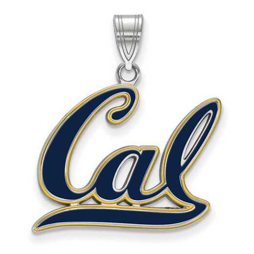 SS019UCB: SS LogoArt Univ of California Berkeley LG Enamel Pend