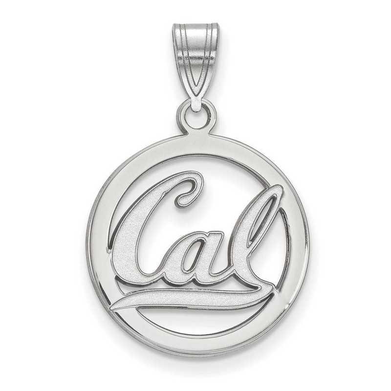 SS020UCB: SS LogoArt Univ of California Berkeley Medium Pendant in