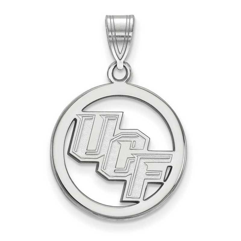 SS020UCF: SS LogoArt Univ of Central Florida Medium Pendant in Cir