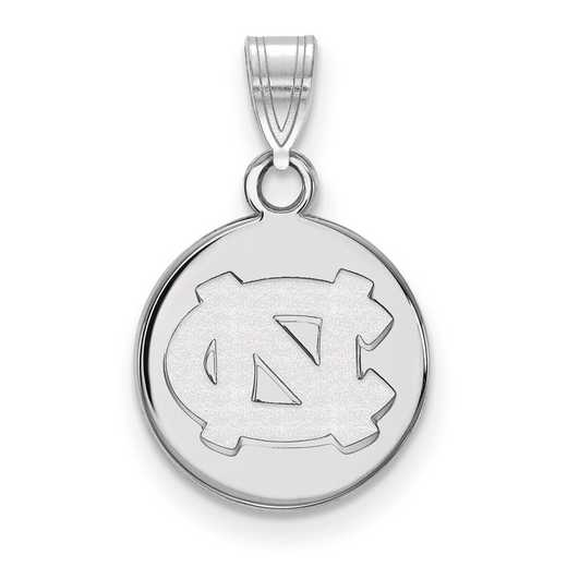 SS032UNC: SS Univ of North Carolina Small Disc Pendant