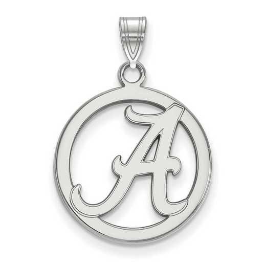 SS033UAL: SS LogoArt Univ of Alabama Md Pendant in Circle