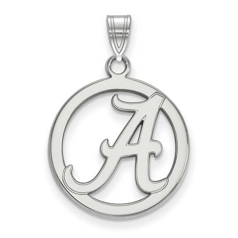 SS033UAL: SS LogoArt Univ of Alabama Md Pendant in Circle