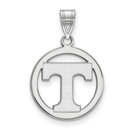 SS033UTN: SS LogoArt Univ of Tennessee Med Pendant in Circle