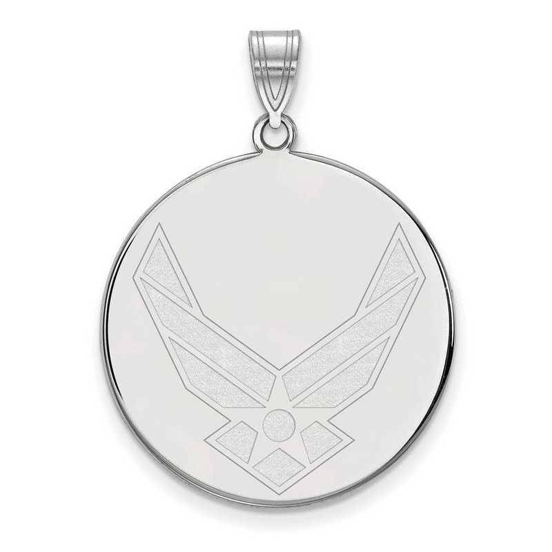 SS034USAF: SS LogoArt U.S. Air Force Academy XLG Disc Pendant